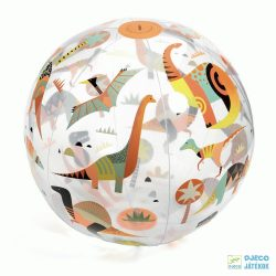 Dino ball, Felfújható 35 cm-es Djeco labda, mozgásfejlesztő játék - 0174