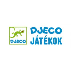 Modern dekor betű fából: D (Djeco, 4813, szobadekoráció, 0-99 év)