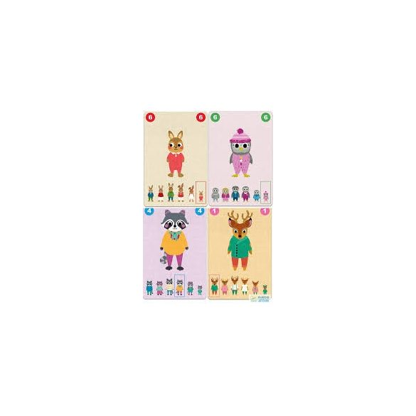 Djeco Familou kooperatív családgyűjtő kártyajáték