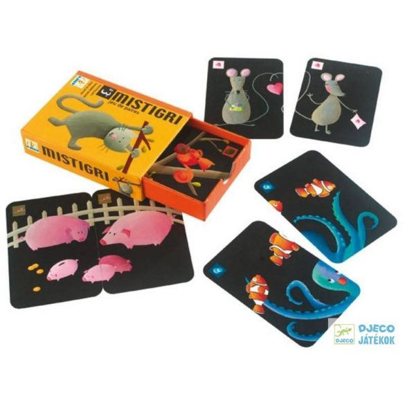 Djeco Mistigri párkereső kártyajáték