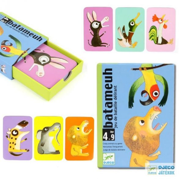 Djeco Batameuh hangutánzós kártyajáték