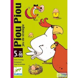 Djeco Piou Piou stratégiai kártyajáték
