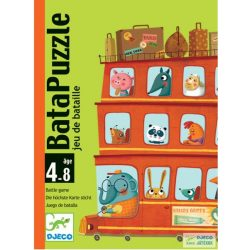 Djeco Bata Puzzle autós kártyajáték