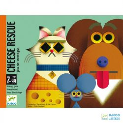 Cheese rescue - Sajtmentő Djeco stratégiai kártyajáték - 5149