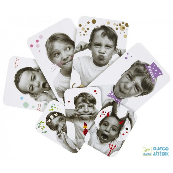 Djeco Grimaces utánozós kártyajáték