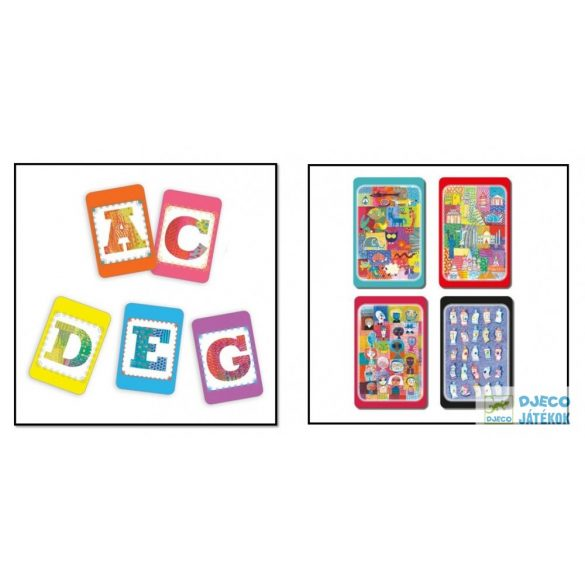 Djeco Batamo szókincsbővítő kártyajáték