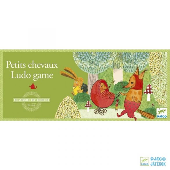 Ludo game Djeco Ki nevet a végén társasjáték