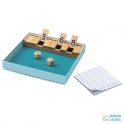 Shut the box Djeco matekos társasjáték