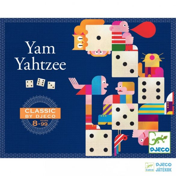 Yam Yahtzee Djeco kockapóker