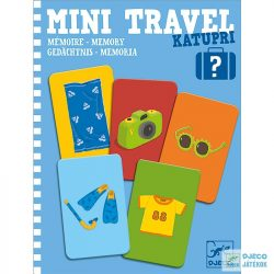 Mini Travel Katupri Djeco memória útijáték