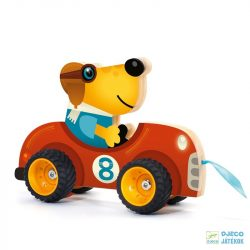 Terreno Car húzható Djeco autó