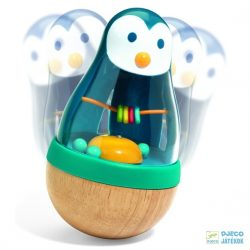 Roly Pingui pingvines keljfeljancsis Djeco fa csörgő