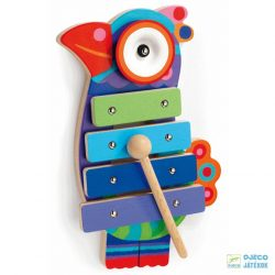 Kikoucoco papagájos Djeco Animambo xilofon