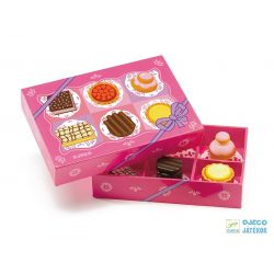 Sütemény kollekció (Djeco, 6515, konyhai termékek, 2-7 év)