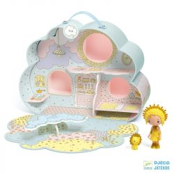 Tinyly Sunny & Mia háza Djeco álomvilág babaház - 6953