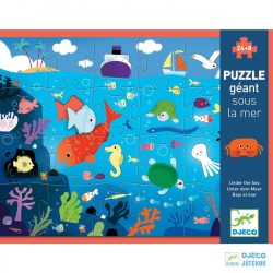 Under the sea 24+8 db-os Djeco óriás puzzle