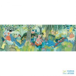 River Party festmény puzzle,  Folyóparti piknik 350 db-os Djeco kirakó - 7618