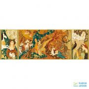 Festmény Puzzle, Egyszarvúak kertje (Djeco, 7624, 500 db-os kirakó, 8-99 év)