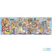 King's Party festmény puzzle, Királyi party 100 db-os Djeco kirakó - 7639