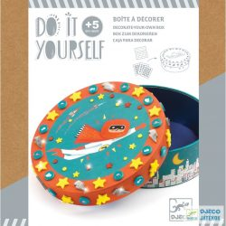 Csináld magad! Kincses doboz készítő Djeco kreatív készlet fiúknak - 7907