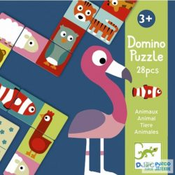 Animo-puzzle állat kirakós Djeco domino