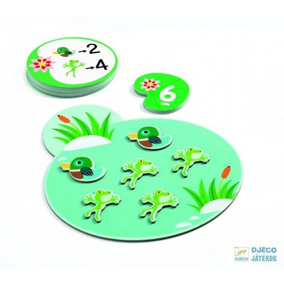Djeco additions számolós logikai játék - Eduludo Összeadás