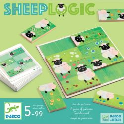 Sheep logics Birka logika Djeco egyszemélyes logikai játék 30 feladvánnyal