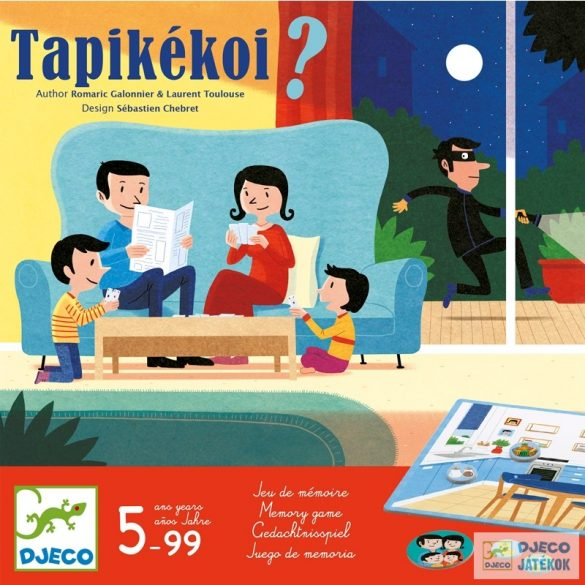 Tapikékoi – Állj, tolvaj! Djeco családi memóriajáték - 8542