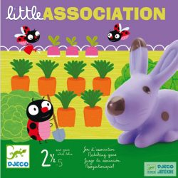 Little association Djeco memóriafejlesztő gyorsasági társasjáték