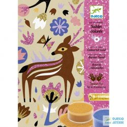 Woodland Wonderland erdei állatos Djeco csillámkép készítő