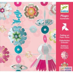 Origami, Girland (Djeco, 8768, kreatív játék, 7-13 év)