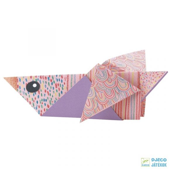 Origami, A sarkkör állatai (Djeco, 8777, kreatív játék, 5-10 év)