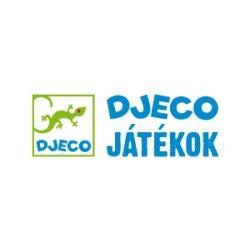 Satírozós színező készlet, Mitikus állatok (Djeco, 8987, kreatív készlet sablonnal, 6-10 év)