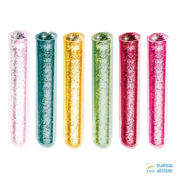 Glitter animals csillogó állatok Djeco csillámkép készítő