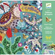 Flamboyant madaras flittervarró Djeco kreatív készlet