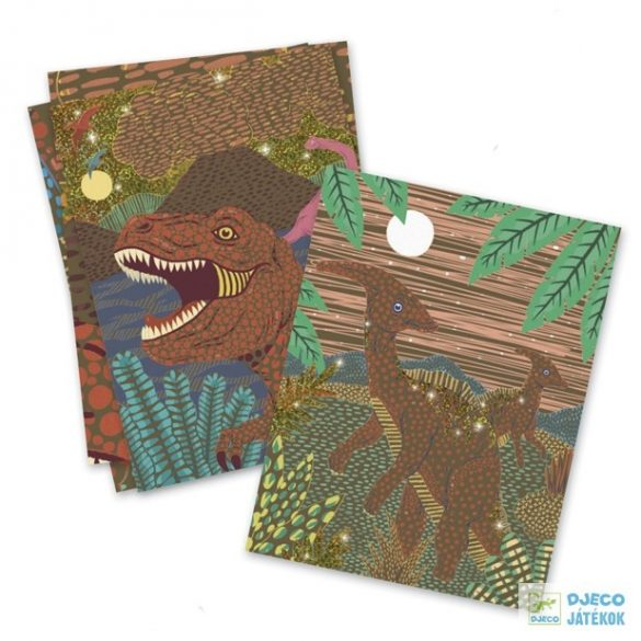 Dinosaurs Dinoszauruszos Djeco karckép készítő