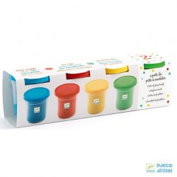 Play dough klasszikus színű 4 db-os Djeco gyurma