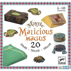 Malicious Magus kezdő bűvész készlet 20 trükkel