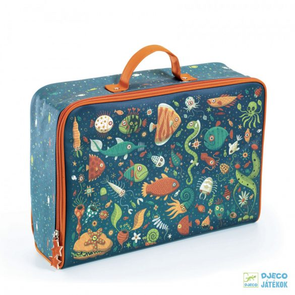 Fishes, Vicces halak Djeco trendi bőrönd utazashoz - 0273