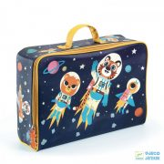 Space, Űrutazás Djeco trendi bőrönd utazáshoz - 0274