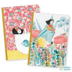 Misa little notebooks 2 darab A6-os Djeco jegyzetfüzet