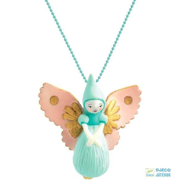 Fairy Lovely Charmes 55 cm-es Djeco nyaklánc tündéres medállal