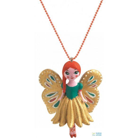 Butterfly Lovely Charmes 55 cm-es Djeco nyaklánc pillangós medállal