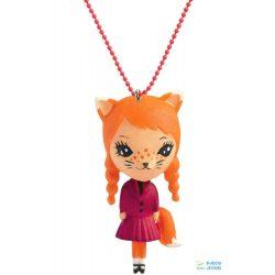 Cat Lovely Charmes 55 cm-es Djeco nyaklánc cicás medállal