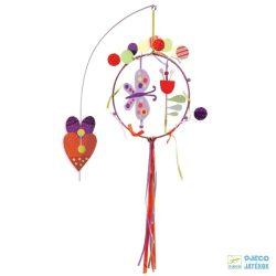 Függődísz, Pillangók (djeco, 4381, Butterflies, gyerekszoba dekoráció)