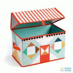 House toy box - Játékház Djeco házikó alakú tárolódoboz - 4480