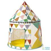 Multicolored tent,  Mintás Djeco játszósátor - 4490