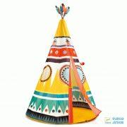 Teepee, Nagyméretű Djeco indiánsátor - 4491