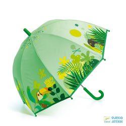 Trópusi dzsungeles Djeco gyerek esernyő