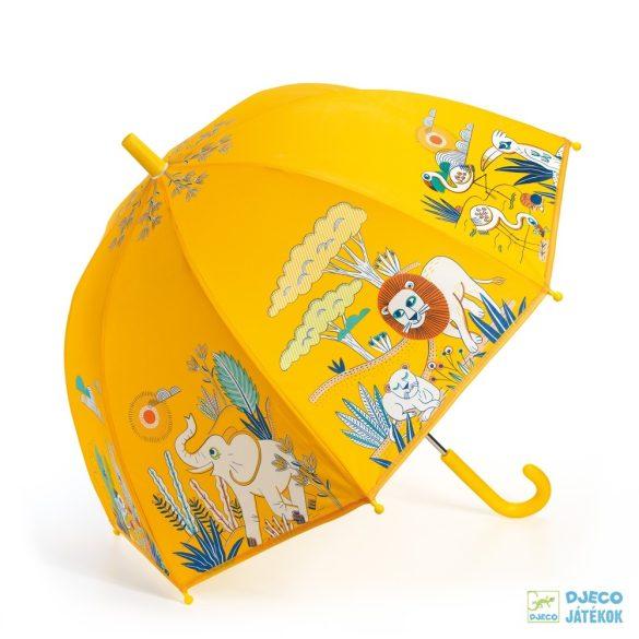 Szavanna állatai Djeco gyerek esernyő